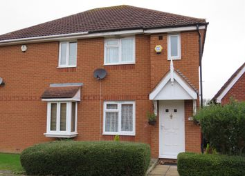 Thumbnail 2 bedroom semi-detached house for sale in Walkhampton Avenue, Bradwell Common, Milton Keynes