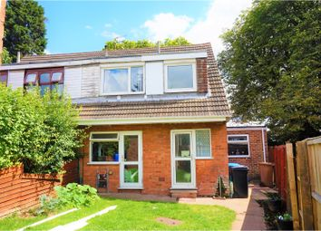 Thumbnail 3 bed semi-detached house for sale in Gilbert Close, Derby