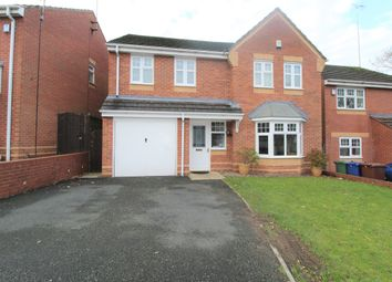 Thumbnail 4 bed detached house for sale in Worcester Close, Rugeley