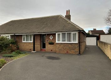 Thumbnail 2 bed semi-detached bungalow for sale in Heaton Avenue, Kirkheaton, Huddersfield