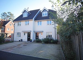 Thumbnail 4 bed semi-detached house for sale in Jubilee Close, Horley
