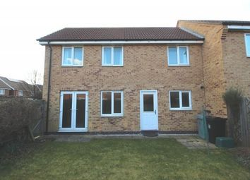 Thumbnail 3 bed end terrace house to rent in Hudson Way, Grantham