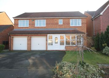 Thumbnail 4 bed detached house to rent in Greenwood Close, Washington