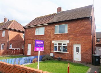 Thumbnail 3 bedroom semi-detached house for sale in Kirkley Road, Newcastle Upon Tyne