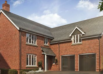 Thumbnail 5 bed detached house for sale in Fairway Meadows, Ullesthorpe, Lutterworth