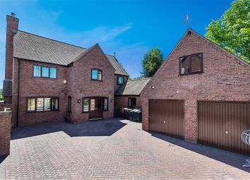 Thumbnail 6 bed detached house for sale in Withington, Leigh, Stoke-On-Trent