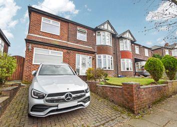 Breeze Mount, Prestwich M25. 4 bed semi-detached house for sale