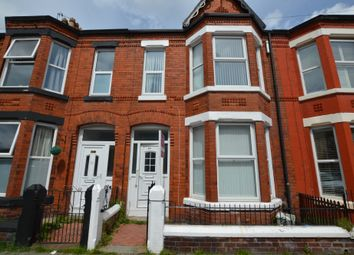 Thumbnail 3 bed terraced house to rent in Molyneux Road, Waterloo, Liverpool