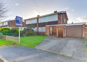Thumbnail 3 bed semi-detached house for sale in Poplar Drive, Royston