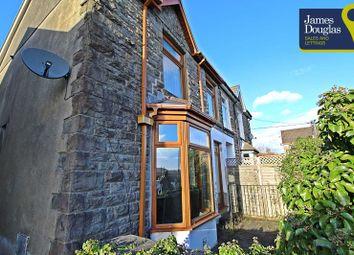 Thumbnail 2 bed semi-detached house for sale in Edward Street, Abercynon, Mountain Ash, Rhondda Cynon Taff.