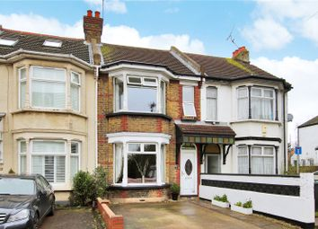 Thumbnail 2 bed terraced house for sale in Whitehill Road, Gravesend, Kent