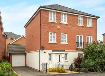 Thumbnail 3 bedroom town house for sale in Apollo Avenue, Cardea, Peterborough