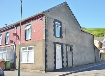 Thumbnail 3 bed end terrace house for sale in Tridwr Road, Abertridwr, Caerphilly