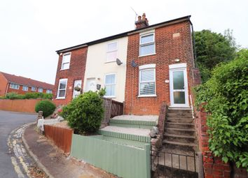 Thumbnail 2 bed end terrace house for sale in Bank Road, Ipswich, Suffolk