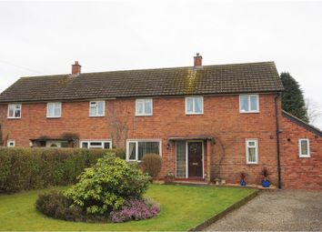 Thumbnail 3 bed semi-detached house for sale in Whitbread Road, Ludlow