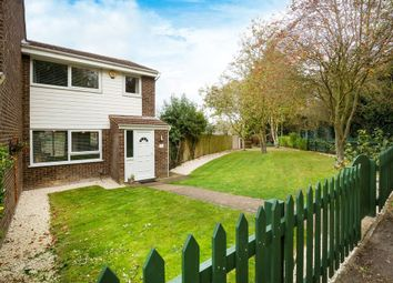 Thumbnail 3 bed end terrace house for sale in Swinburne Close, Royston