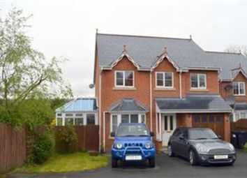 Thumbnail 4 bed property for sale in 8, Meillionydd, Adfa, Newtown, Powys