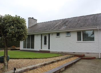 Thumbnail 3 bed detached bungalow for sale in Llanddaniel, Gaerwen