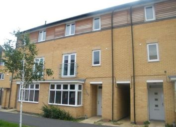Thumbnail 4 bedroom terraced house for sale in Four Chimneys Crescent, Hampton Vale, Peterborough, Cambridgeshire