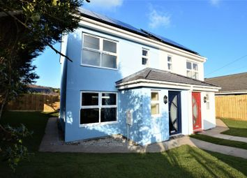 Thumbnail 3 bed semi-detached house to rent in Penhale Road, Penwithick, St. Austell