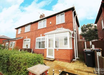 Thumbnail 3 bedroom semi-detached house for sale in Longfield Road, Middle Hulton, Bolton, Lancashire.