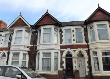 Thumbnail 4 bedroom terraced house to rent in Heathfield Road, Gabalfa, Cardiff