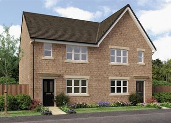 "Thumbnail 3 bed semi-detached house for sale in ""The Pushkin"" at Main Road, Eastburn, Keighley"