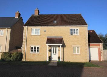 Thumbnail 4 bed country house for sale in Mendip Gardens, Holcombe, Radstock
