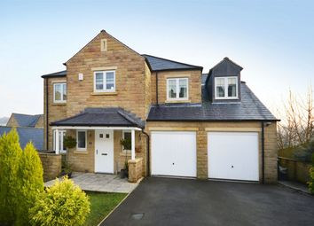 Thumbnail 4 bed detached house for sale in 10 Ryestone Drive, Ripponden, Halifax, West Yorkshire