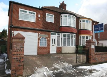 Thumbnail 3 bed semi-detached house for sale in Preston Road, Hartburn, Stockton-On-Tees