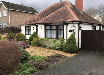 Thumbnail 3 bed detached bungalow to rent in Elms Road, Fleet