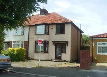Thumbnail 3 bed semi-detached house for sale in Belvue Road, Northolt, London