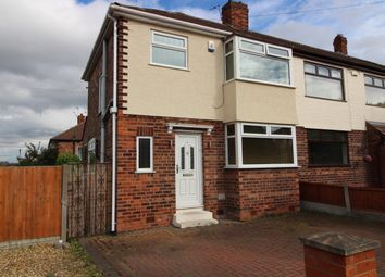 Thumbnail 3 bed semi-detached house to rent in North Manor Way, Woolton, Liverpool