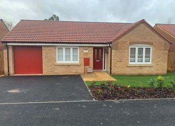 Thumbnail 2 bed detached bungalow for sale in Plot 46 The Marston, Pinchbeck Fields, Spalding