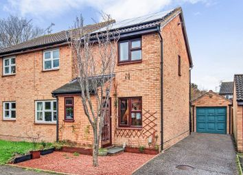 Thumbnail 2 bed semi-detached house for sale in Lovibond Place, Chelmer Village, Chelmsford