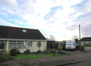 Thumbnail 3 bed semi-detached bungalow for sale in Wyebank Avenue, Tutshill, Chepstow
