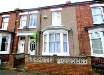 Thumbnail 4 bedroom terraced house to rent in Elmfield Terrace, Darlington