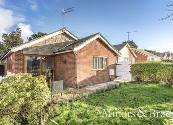 Thumbnail 3 bed detached bungalow for sale in Brooke Avenue, Caister-On-Sea, Great Yarmouth