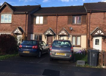 Thumbnail 2 bed terraced house to rent in Danestone Close, Swindon