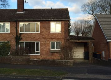 Thumbnail 3 bed semi-detached house to rent in Curlew Crescent, Brickhill