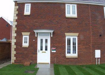 Thumbnail 3 bedroom semi-detached house to rent in Moorland Green, Bryn Gwyn Village, Gorseinon, Swansea