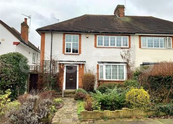 Bittacy Park Avenue, Mill Hill, London NW7. 3 bed semi-detached house for sale