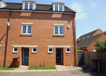 Thumbnail 3 bed town house for sale in Ross Close, Lincoln