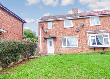 Thumbnail 2 bed semi-detached house to rent in Basingstoke Road, Peterlee