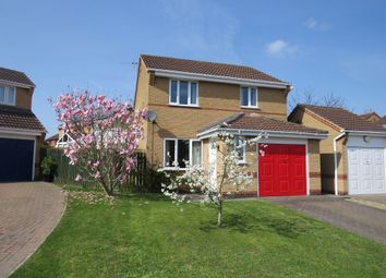 Thumbnail 3 bedroom detached house for sale in Wensleydale Close, Grantham