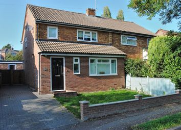 Thumbnail 3 bed semi-detached house for sale in Lower Park Crescent, Bishop's Stortford