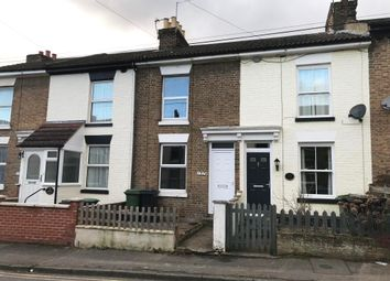 Thumbnail 2 bed terraced house for sale in 137 Bower Street, Maidstone, Kent