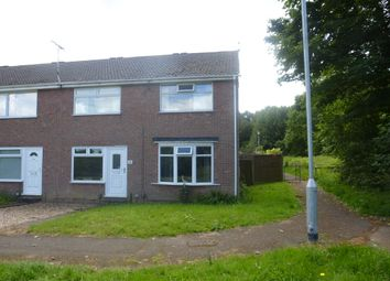 Thumbnail 2 bed end terrace house for sale in Rowan Close, Forest Town, Mansfield