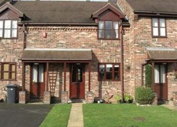 Thumbnail 2 bed terraced house to rent in The Riverbank, Willington, Derby