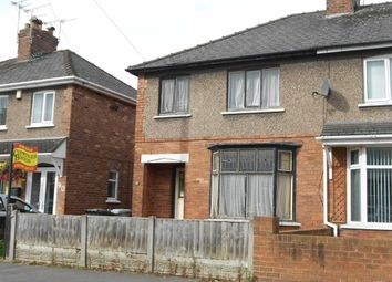 Thumbnail 3 bed semi-detached house for sale in Ernest Street, Crewe, Cheshire